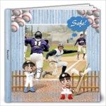 12x12  Baseball Book - 12x12 Photo Book (20 pages)