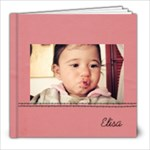 Baby girl 8x8 - 8x8 Photo Book (20 pages)