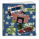 firetrucks - 8x8 Photo Book (20 pages)