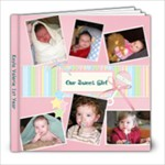 Kayla 1st year - 8x8 Photo Book (20 pages)