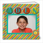 Aden Scrapbook 2018 - 8x8 Photo Book (20 pages)