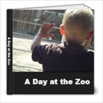 Zoo Book - 8x8 Photo Book (20 pages)