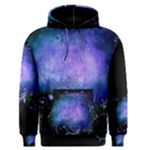 Blue Colored Swirl Men s Hoodie - Men s Core Hoodie