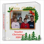 snyder christmas - 8x8 Photo Book (20 pages)