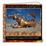 23 page Burning Man book featuring the Abraxas Art Car 8x8 inch - 8x8 Photo Book (20 pages)