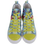 Women s Mid-Top Canvas Sneakers