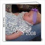Faces of 2008 - 8x8 Photo Book (20 pages)