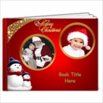 June Red and Green Christmas 9x7 book (20 Pages) - 9x7 Photo Book (20 pages)