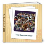 Sowell family book - 8x8 Photo Book (20 pages)
