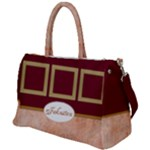 Rustic Red Duffel Travel Bag