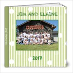 jim and i 2017 - 8x8 Photo Book (20 pages)
