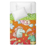 Unicorns Single Duvet  - Duvet Cover Double Side (Single Size)