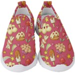 Kids Slip On Shoes - Ice Cream, Falling Stars & Cakes - Kids  Slip On Sneakers