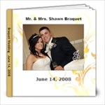 Braquet Wedding Album  - 8x8 Photo Book (20 pages)