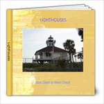 Lighthousses - 8x8 Photo Book (20 pages)