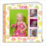 Lexis book - 8x8 Photo Book (20 pages)