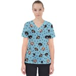Misty s Trio - Women s V-Neck Scrub Top