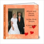 Allyson Wedding 6x6 - 6x6 Photo Book (20 pages)