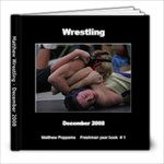 Wrestling book finished - 8x8 Photo Book (20 pages)