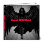 He Will Bleed - 6x6 Photo Book (20 pages)