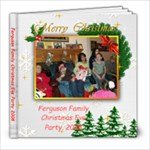 Christmas Eve 2008 - 8x8 Photo Book (20 pages)