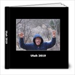 UTAH 2019 - 8x8 Photo Book (20 pages)