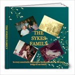Sykes Family - 8x8 Photo Book (20 pages)