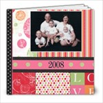 Grandma Christmas 2008 - 8x8 Photo Book (20 pages)