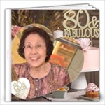 Mama - Fabulous at 80 - 12x12 Photo Book (20 pages)
