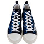 Nightwing Shoes - Men s Mid-Top Canvas Sneakers