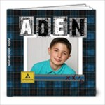 Aden Scrapbook 2019 - 8x8 Photo Book (20 pages)