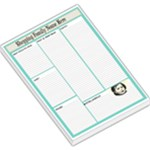 BLUE SHOPPING MEMO PAD - Large Memo Pads