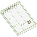 GREEN SHOPPING MEMO PAD - Large Memo Pads