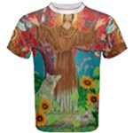 T-shirt - cotton - men s large - brother sun - Men s Cotton Tee