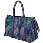 duffel travel bag - canvas - wisteria lane