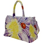 duffel travel bag - canvas - iris and lady