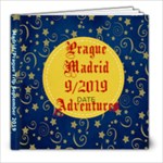 Prague and Madrid Trip 9.2019 - 8x8 Photo Book (20 pages)