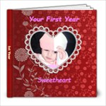 Your Ist year - 8x8 Photo Book (20 pages)