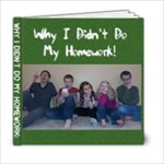 Homework - 6x6 Photo Book (20 pages)