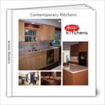 Contemporary Kitchens by Artistic Kitchens - 8x8 Photo Book (20 pages)