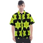 Green Limes Pattern 8 - Men s Short Sleeve Shirt