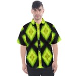 Green Limes Pattern 1 - Men s Short Sleeve Shirt