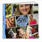2011 - Shannon Graduation book - 8x8 Photo Book (20 pages)