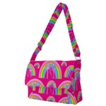 Full Print Messenger Bag (M)