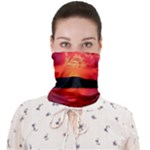 sunrise neck bnadana - Face Covering Bandana (Adult)