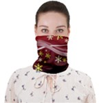 swirl neck bandana - Face Covering Bandana (Adult)