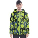 SKULL PUFFER JACKET - Men s Hooded Puffer Jacket