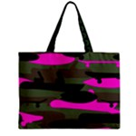 pink camo bag - Mini Tote Bag