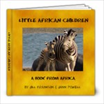African children - both Jann & Jill - 8x8 Photo Book (20 pages)