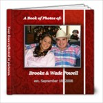 Wade & Brooke - 8x8 Photo Book (30 pages)